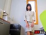 Japanese Babe Teasing Her Panties
