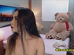 Gorgeous Shemale Jerking Her Cock