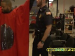 Barbershop gets some action when the police fucks a cri