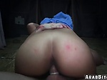 Muslim babe hd Sneaking in the Base...