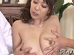 Topnotch hottie Akari Asagiri enjoys deep penetration