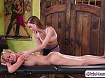 Lovely Brandi Love loves to eat her client Jill Kassidy