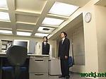Office Japanese intense porn