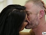 TS Superstar Chanel Santini bangs her Patients butthole