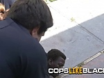 Smacker is taken to milf cops private spot for a hard c