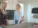 Riley Anne feels aroused witnessing stepmom Serenes pa
