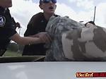 Black fake hero has to serve two female cops
