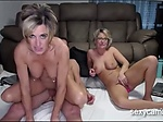 Two horny mature nymphos shagging b...
