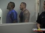 INTERROGATION turns to HARDCORE interracial threesome