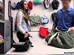 Brunette teen Angelica Cruz ends up getting fucked for