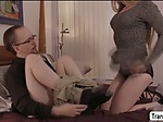 TS Janelle Fennec finally gets fuck by dudes big cock