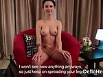 Lovely virgin showing hymen in clos...