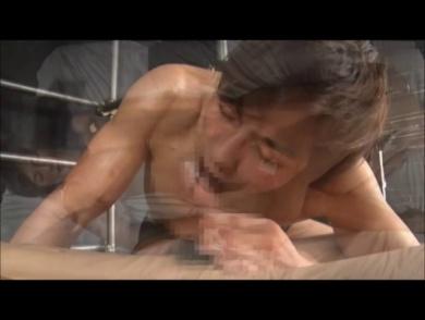 【男のプリケツ】垂れタマぶらーん!新春一発目のウブウブセックス!