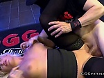 Tattooed busty blonde daisy lee banged and swallows