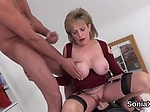 Unfaithful uk milf lady sonia shows off her monster bal