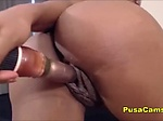 Horny Ebony MILF with Bubble Booty