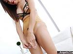 Sexy tranny fucks cock with fleshlight then masturbates