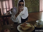 Russia amateur Hungry Woman Gets Food and Fuck