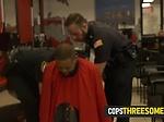 Milf cops savour on naughty criminals hard black cock