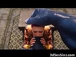 3D Girl Demolished by Monstrous Minothaur