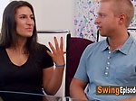 Swinger amateur lady hopes to lose her shyness after ex