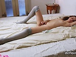 Ideal nympho gapes spread snatch and gets deflowered