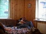 Russian Babe Bored Sunday At home Fucks Not Stepdad