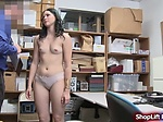 Teen pornstar shoplifter throats and fucked by LP offic