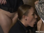 Ebony babe interracial first time Fake Soldier Gets Use