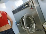 Dude goes to laundromat where bangs Milf