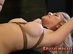 Tied up slave Bigbreasted blondie sweetheart Cristi An