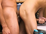 Interracial police gay porn 18 yr old Caucasian male 6