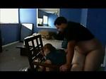 Chubby latina milf gets fucked on hidden cam