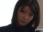 Asian threesome wild anal