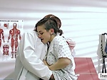 Ladyboy Natalie slams Rizzos wet pussy in the operating