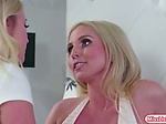 Stepdaughter Bailey licks stepmom Christie to be satisf Christie Stevens is having some problems with her marriage and ...
