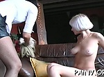 Bitch gets fucked hard