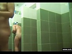 Naked russian moms in public shower