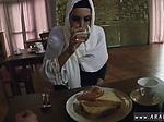 Teen nice boobs Hungry Woman Gets Food and Fuck