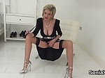 Unfaithful english milf lady sonia shows her enormous h
