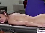 Stepmom Ryan Keely massage Emily Willis and licks her w
