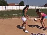 Lesbian love sex scene 1 and amateur public Sporty teen