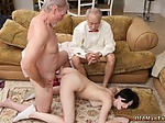 Sexy old lady fucked and fat man Frannkie goes down the