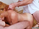 Petite blonde hardcore Frannkie And The Gang Tag Team A