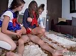 Teen foot licking Cosplay Queens