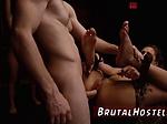 Beat kick slave Two youthful sluts Sydney Cole and Oli