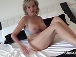 Unfaithful british milf lady sonia reveals her huge pup