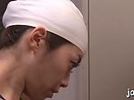 Pungent mature nipponese Maki Hokujo blowing well