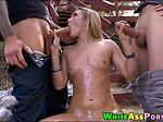 AJ Applegate double fucked by big cocks