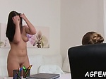 Female agent is all about wild sex